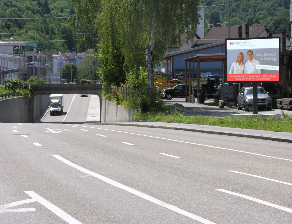 CityLED Standort St. Margrethen